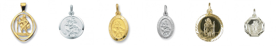 St Christopher Jewellery