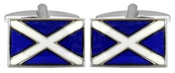Novelty Scottish Flag Cufflinks