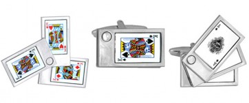 Novelty Playing Cards Cufflinks