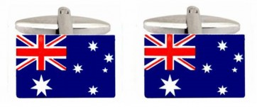 Novelty Australian Flag Cufflinks