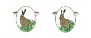 Novelty Hare Cufflinks
