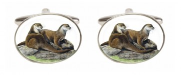 Novelty Otter Cufflinks