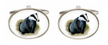 Novelty Badger Cufflinks