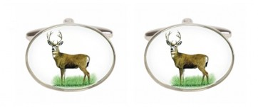 Novelty Stag Cufflinks