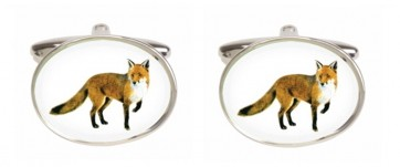 Novelty Fox Cufflinks