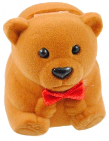 Light Brown Bear Ring Box