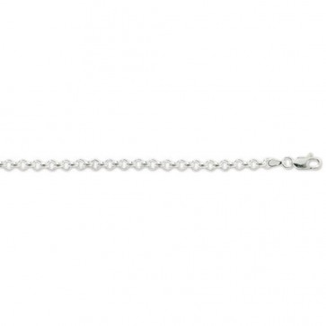 Sterling Silver Belcher Chain Necklace - 4mm Thick - Various Lengths - 16, 18, 20, 22, 24, 26, 28 and 30 Inch Long