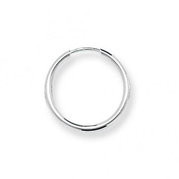 Sterling Silver 16MM Sleeper Earrings