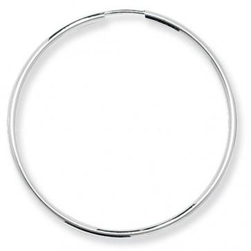 Sterling Silver 43MM Sleeper Earrings