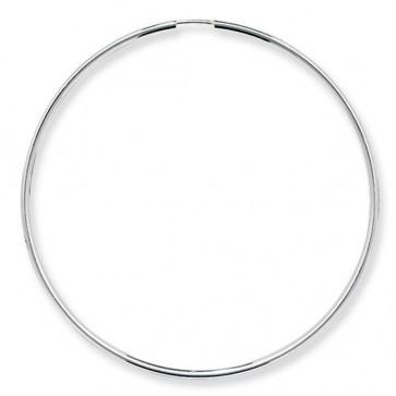 Sterling Silver 60MM Sleeper Earrings