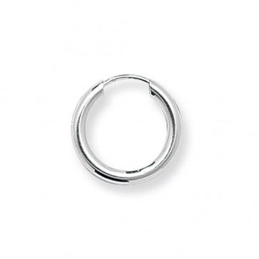 Sterling Silver 15MM Sleeper Earrings