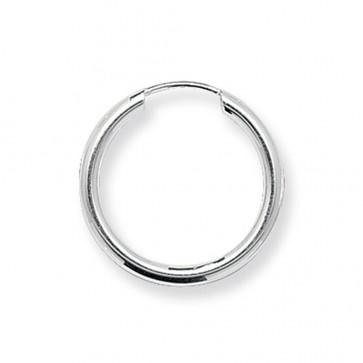 Sterling Silver 20MM Sleeper Earrings