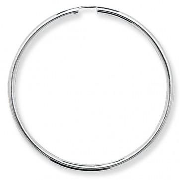 Sterling Silver 50MM Sleeper Earrings