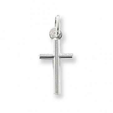 Sterling Silver Plain Cross Pendant