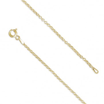 18K Gold Plated 18 Inch Belcher Chain