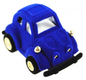Blue Car Ring Box