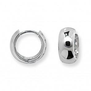 Sterling Silver 14MM Hoop Earrings
