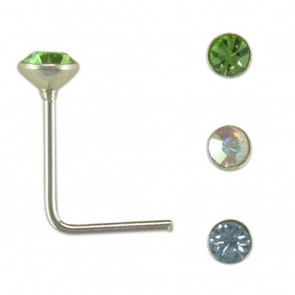 Sterling Silver Triple Set Of Nose Studs