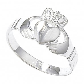 Sterling Silver Claddagh Ring
